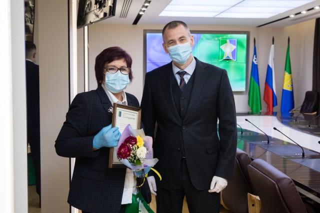 НКО Сургутского района получили от главы благодарности и сотни тысяч рублей на добрые дела