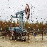 Нефтяная акварель (фото С.А. Нагаева)